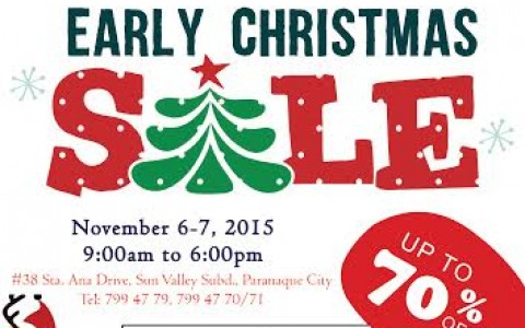 Canadian Bed and Bath Early Christmas Sale November 2015