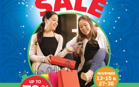 Festival Supermall All Out Shopaholic Sale November 2015