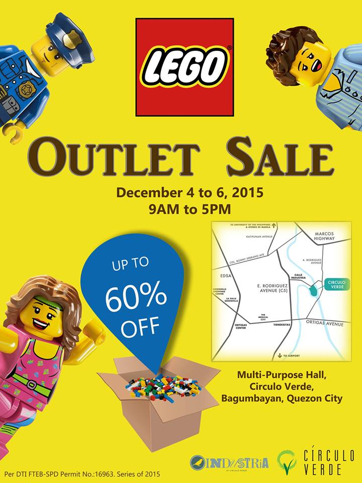 Lego Outlet Sale @ Circulo Verde December 2015