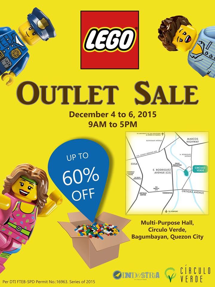Lego Outlet Sale @ Circulo Verde December 2015