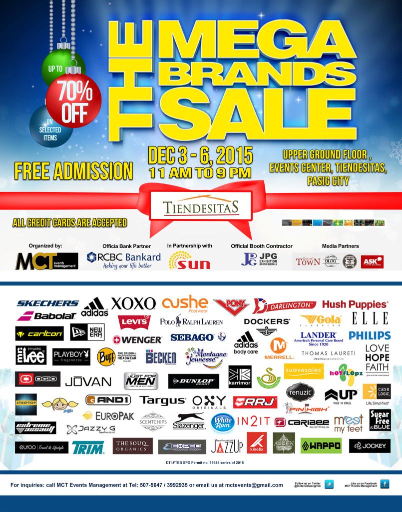 MegaBrands Sale Christmas Rush @ Tiendesitas Poster