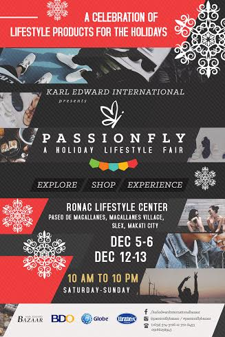 Passionfly Bazaar @ Ronac Lifestyle Center Magallanes December 2015
