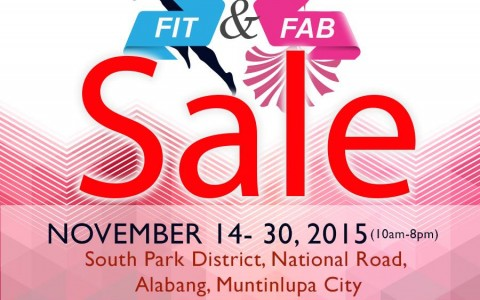 Planet Sports Fit & Fab Sale @ South Park District, Alabang November 2015