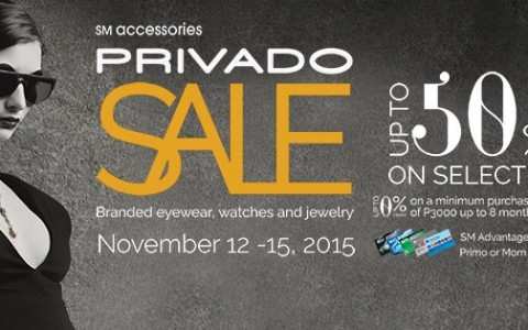 SM Accessories Privado Sale November 2015