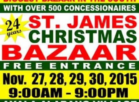 St. James Christmas Bazaar @ Ayala Alabang Village November 2015