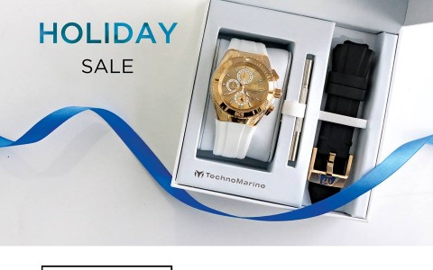 Technomarine Holiday Sale November - December 2015