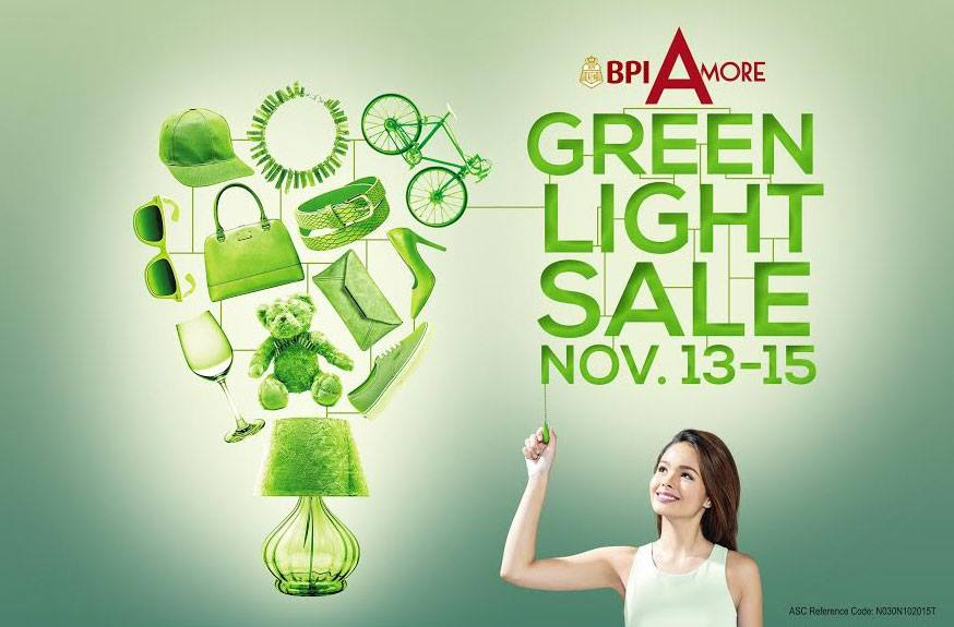 Trinoma Green Light Sale November 2015