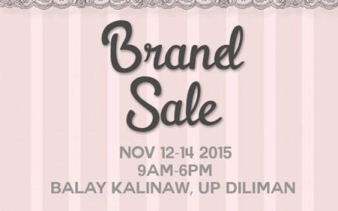 Wacoal Brand Sale @ UP Balay Kalinaw November 2015