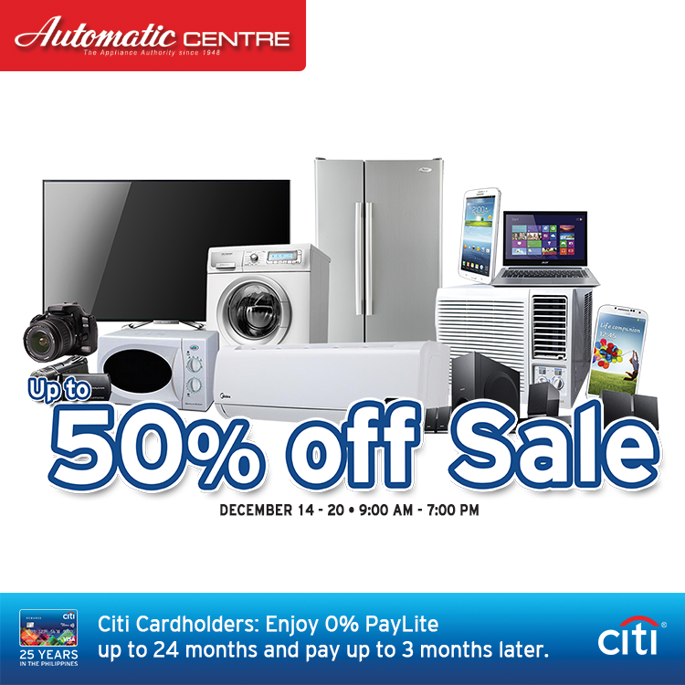 Automatic-Center-Sale-2015-poster