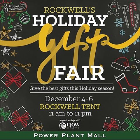 Rockwell's Holiday Gift Fair @ Rockwell Tent December 2015