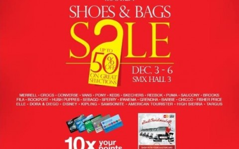 Shoes & Bags Sale @ SMX Convention Center December 2015
