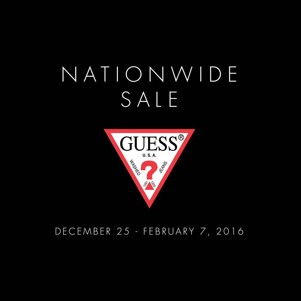 8cd862b975f Guess Nationwide Sale - Until February 7
