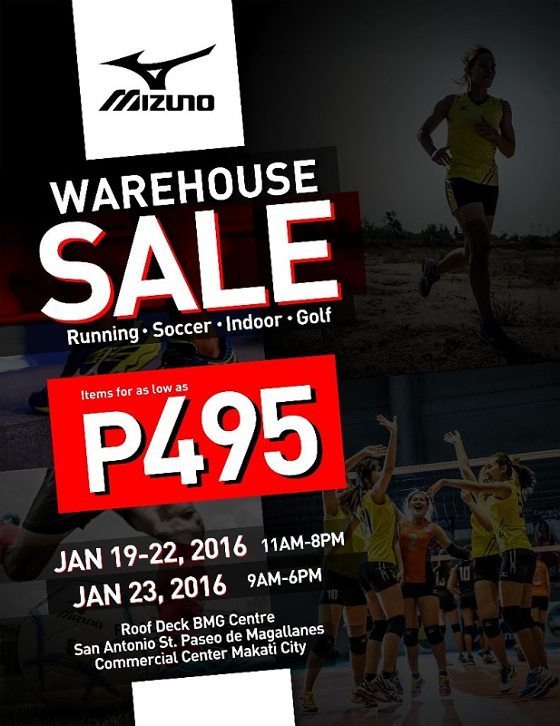 Mizuno-Warehouse-Sale-January-2016-Poster