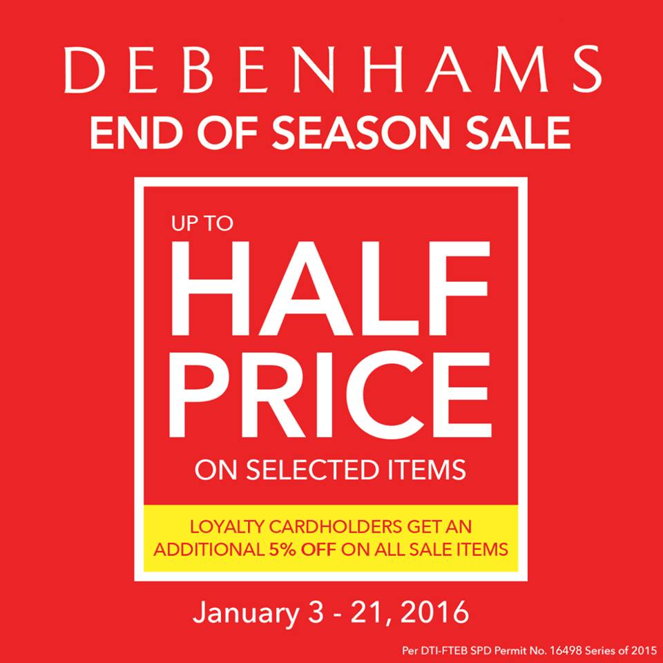 Debenhams Sale