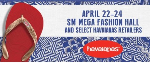 0620750877160 Make Your Own Havaianas  April 22-24