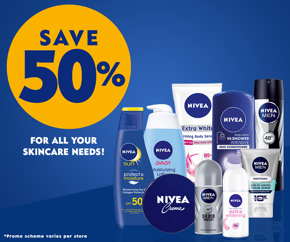 Big Nivea Sale: April 14-18, 2016 | Manila On Sale