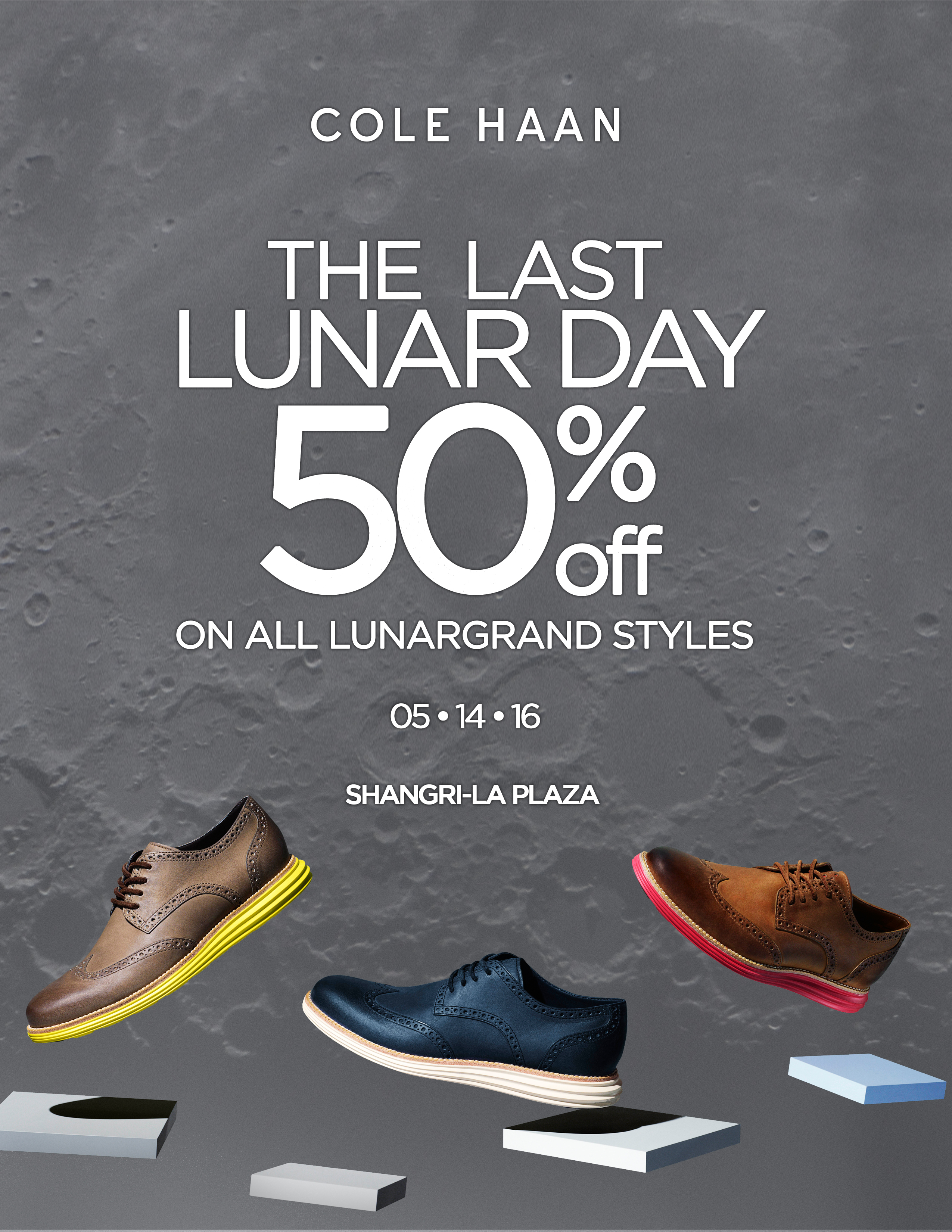 Cole Haan Last Lunar Day: May 14, 2016