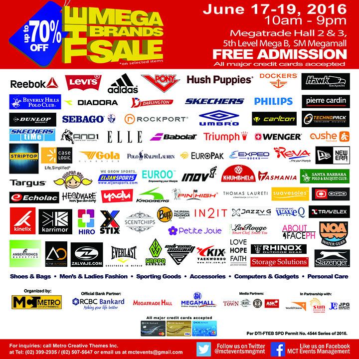 15th MegaBrands Sale Poster