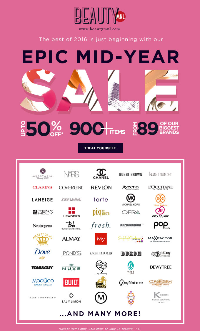BeautyMNL Mid-Year Sale