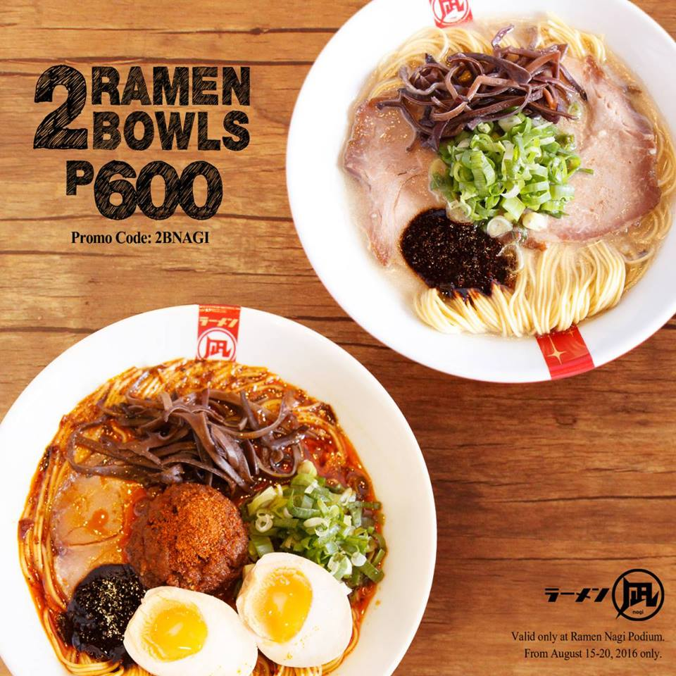 2 ramen nagi bowls for php600 august 15 21 2016 manila on sale. Black Bedroom Furniture Sets. Home Design Ideas