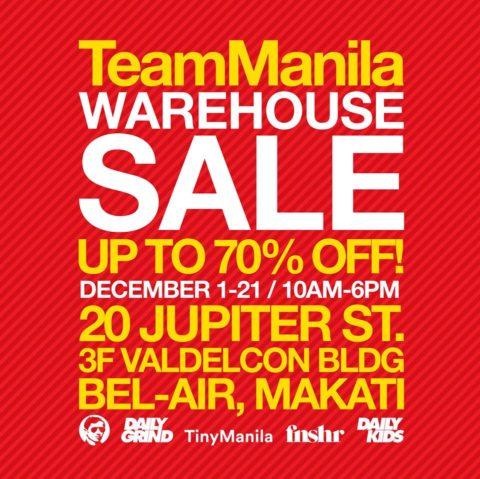 dbf5afd3b25442 Team Manila Warehouse Sale  December 1-21