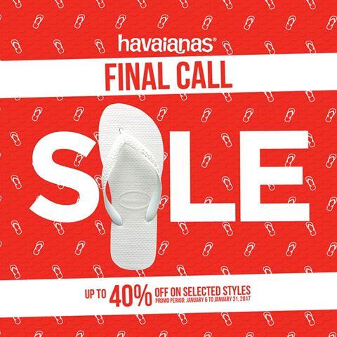 42cbf725d0c41c Havaianas Final Call Sale  January 7-31