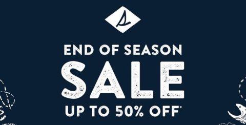 Sperry End of Season Sale: January 1-31