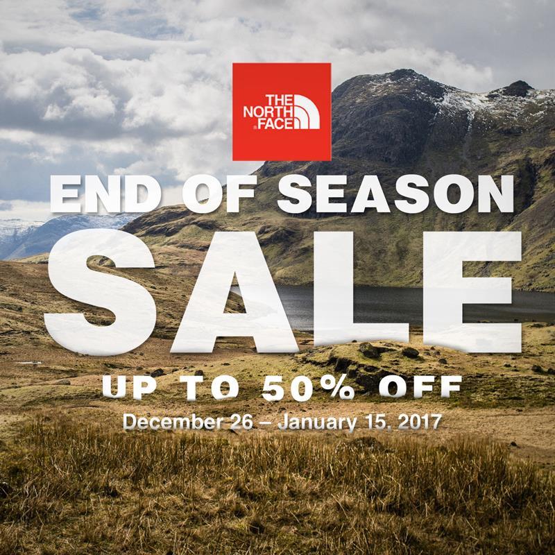 a0dd1c098 The North Face End of Season Sale: January 12-15, 2017 | Manila On Sale