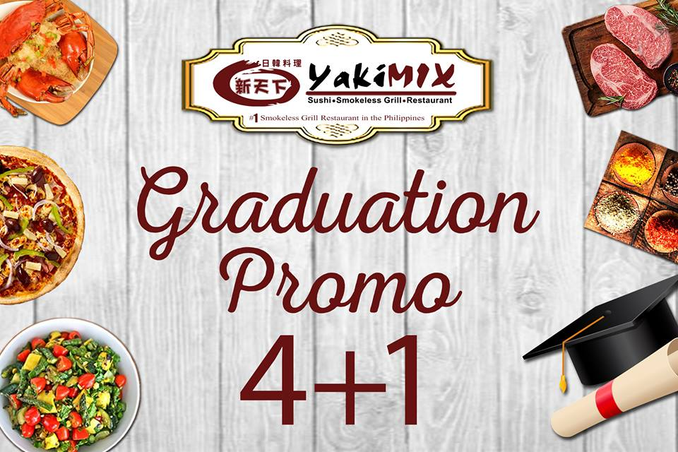 Enjoyable Graduation Promo Free Buffet At Yakimix Manila On Sale Download Free Architecture Designs Itiscsunscenecom