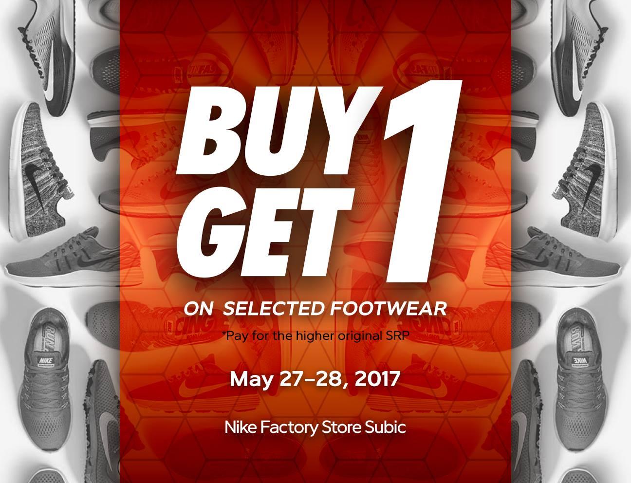 buy 1 take 1 nike shoes