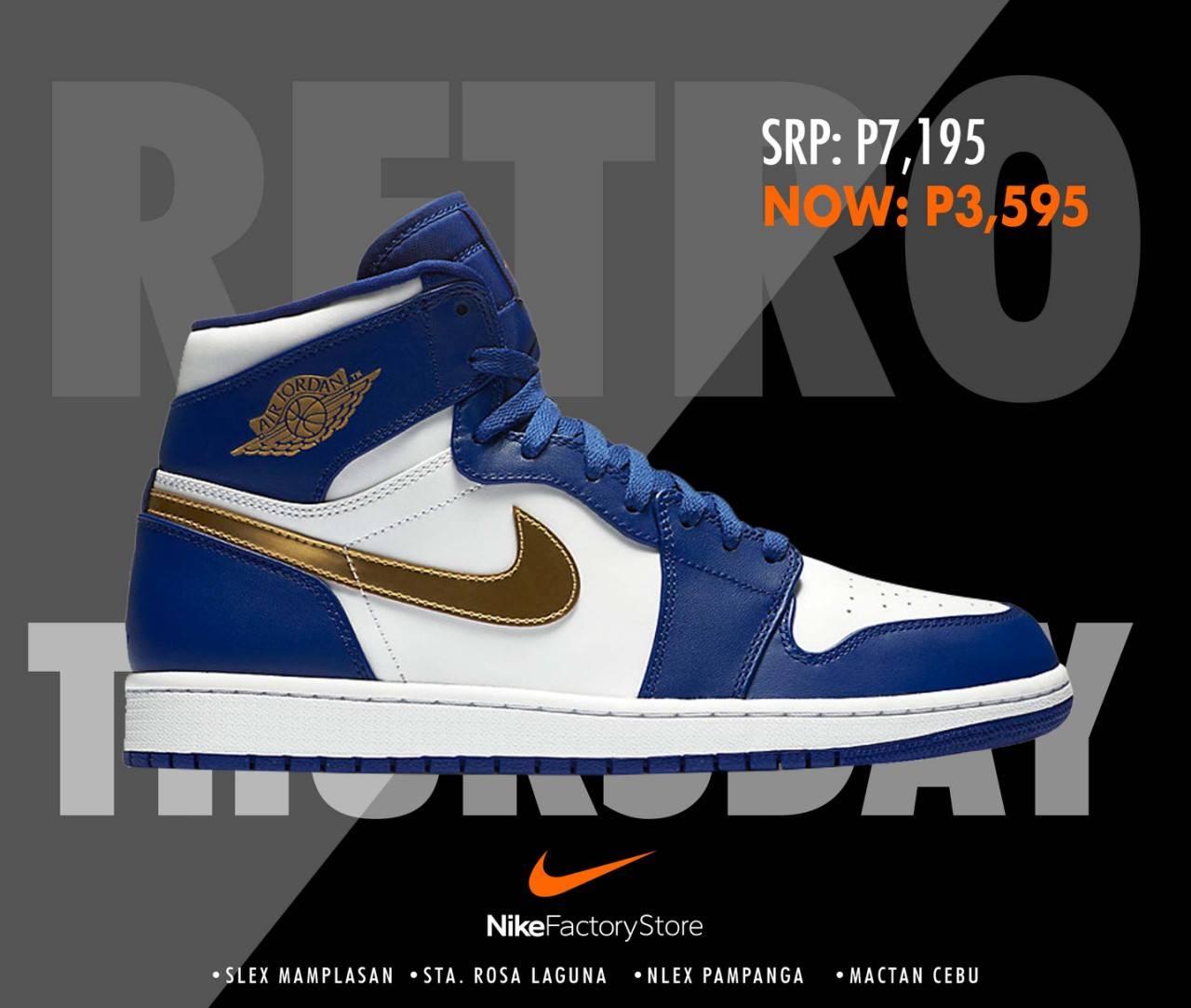 Nike Factory Store 50% OFF JORDANS!!!