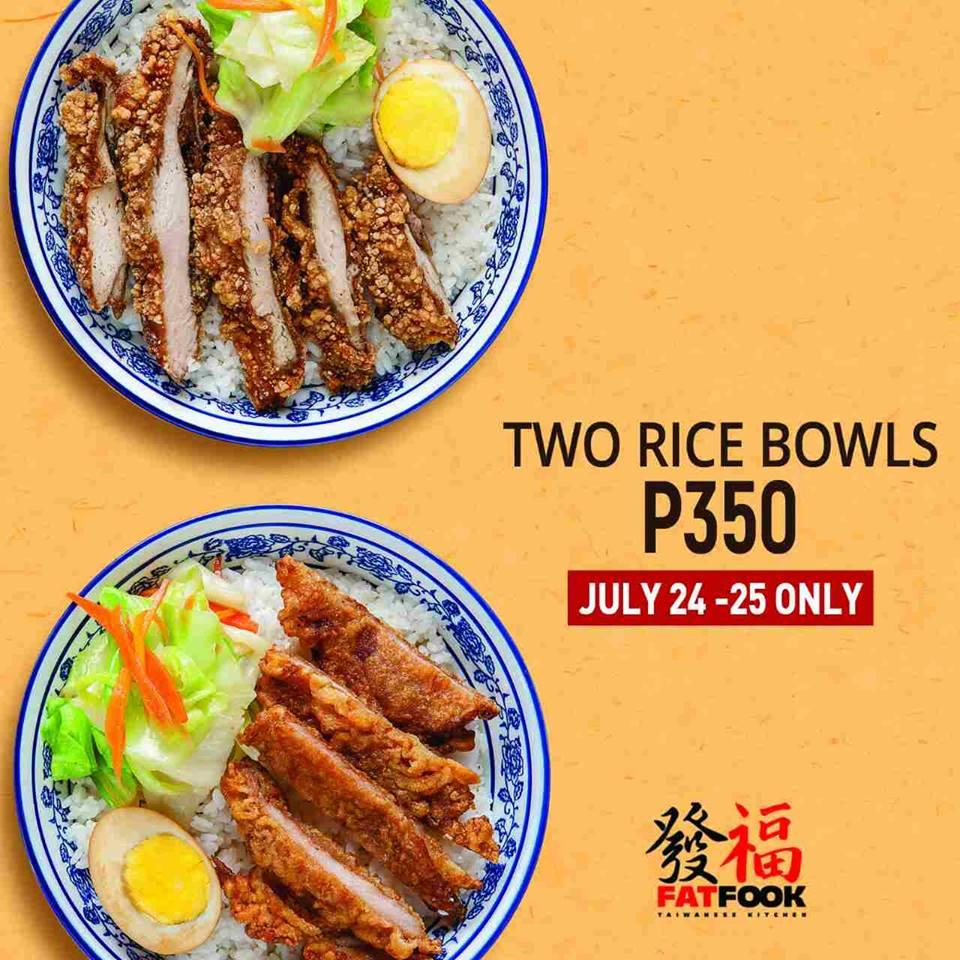 Food Sale: Food Promo: Fat Fook SM North EDSA!