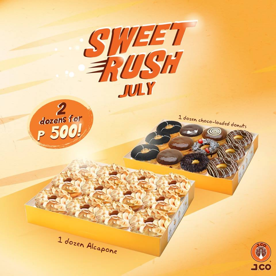 j co donuts Jco donuts & coffee have a special treat for you this national day period.