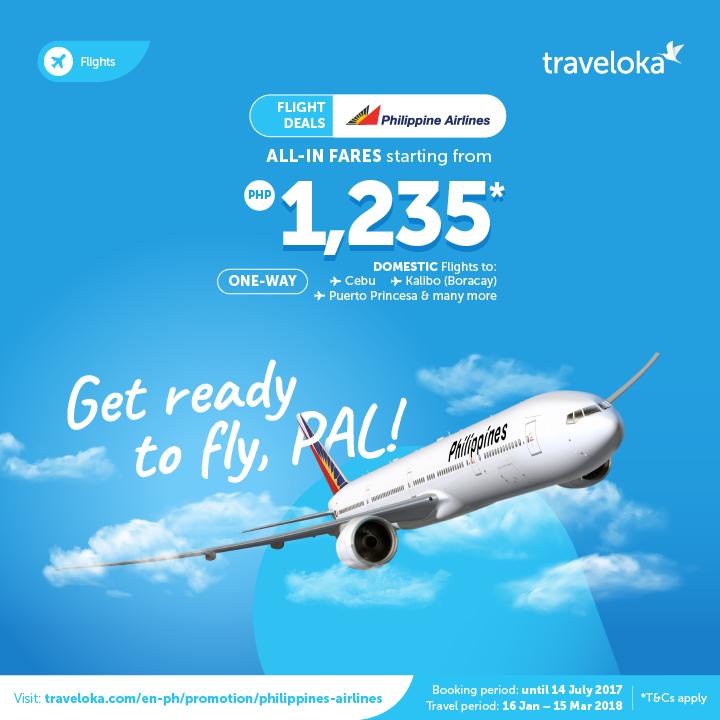 Seat Sale Alert Pal Via Traveloka Starting At Php1235 87 Manila On Sale