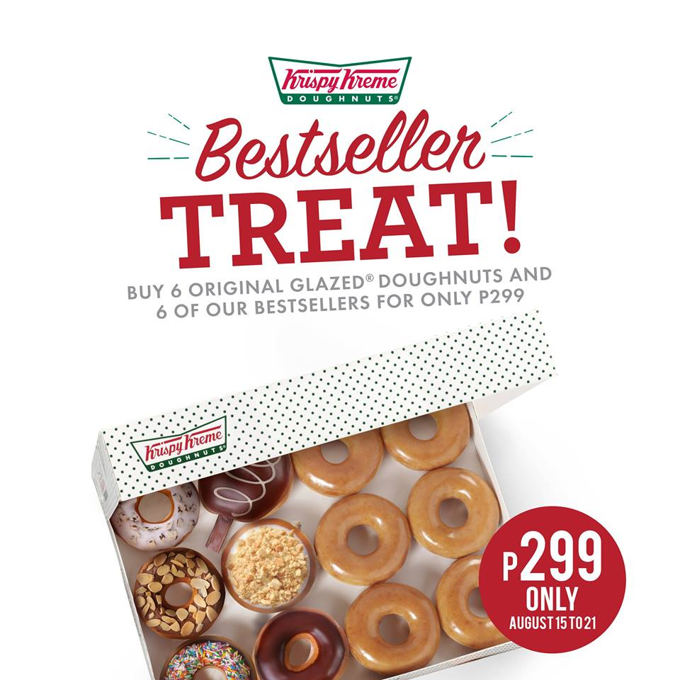Food Promo: Krispy Kreme Mixed Dozen for Php299!!! | Manila On Sale