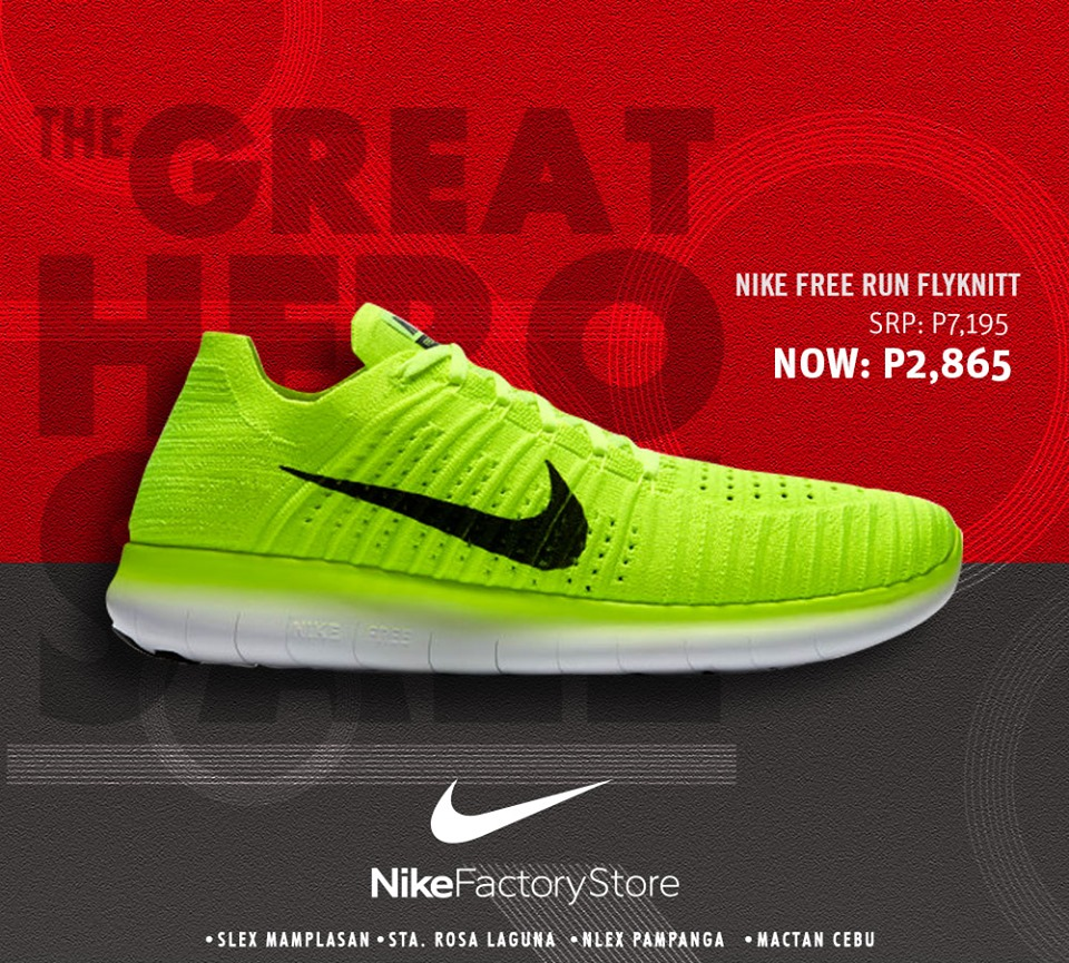 EXTENDED: Nike Factory Store The Great Hero Sale