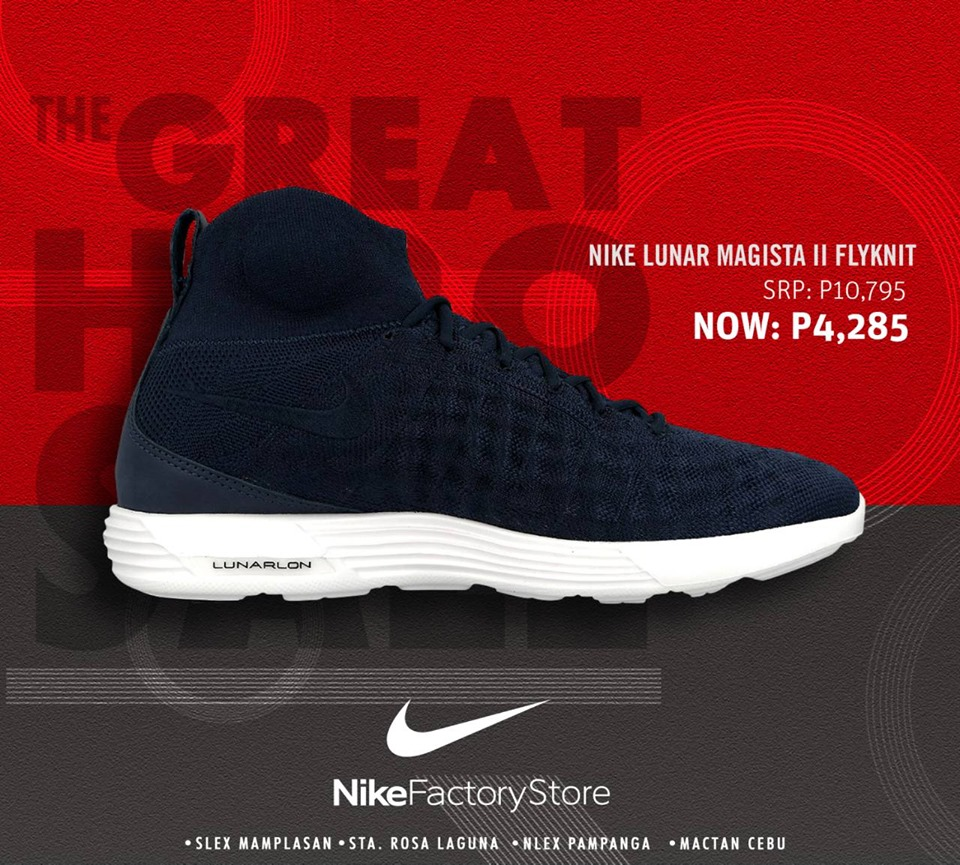 Nike Factory Store The Great Hero Sale: Up to 70% Off!!!! August 11-13, 2017. Nike Factory Stores