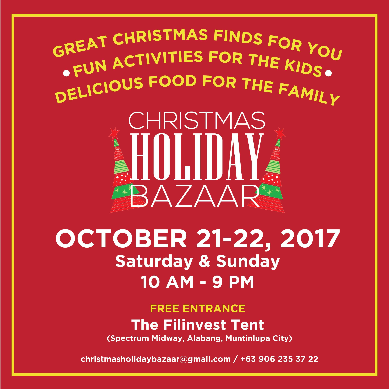 christmas holiday bazaar
