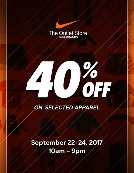 0add24d38 Nike Sale at The Outlet Store Riverbanks Marikina | Manila On Sale