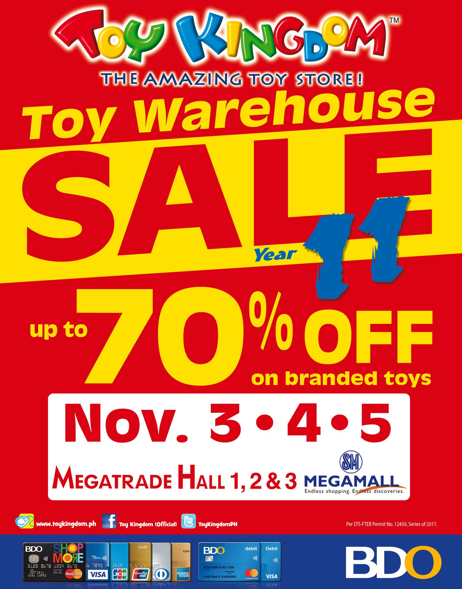 Toy Kingdom Warehouse Sale  85783e007
