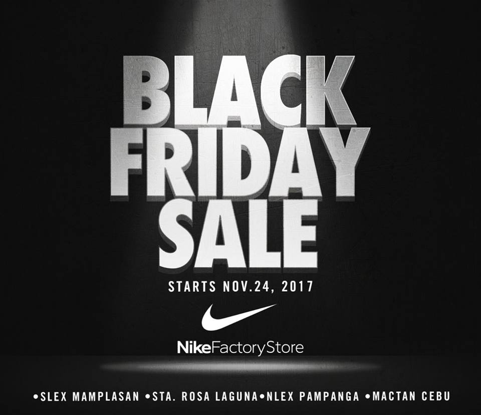Nike Factory Store Black Friday Sale | Manila On Sale