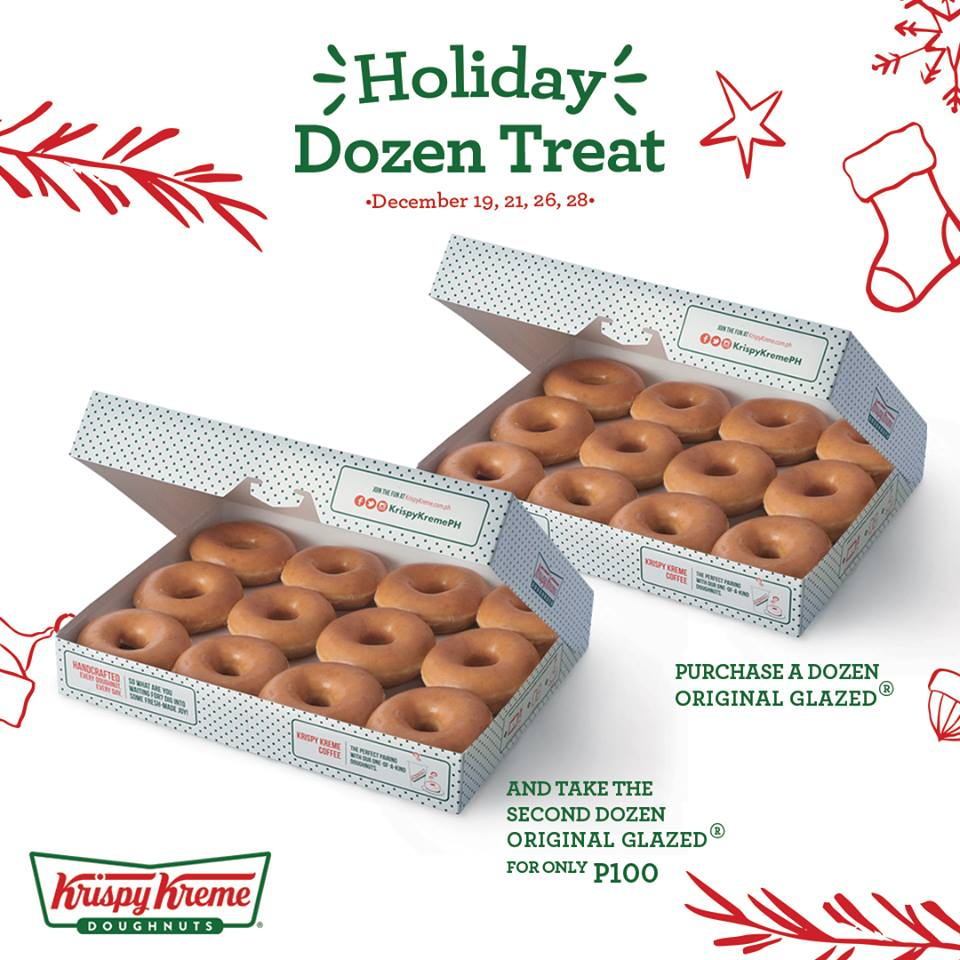 Krispy Kreme Holiday Dozen Treat | Manila On Sale