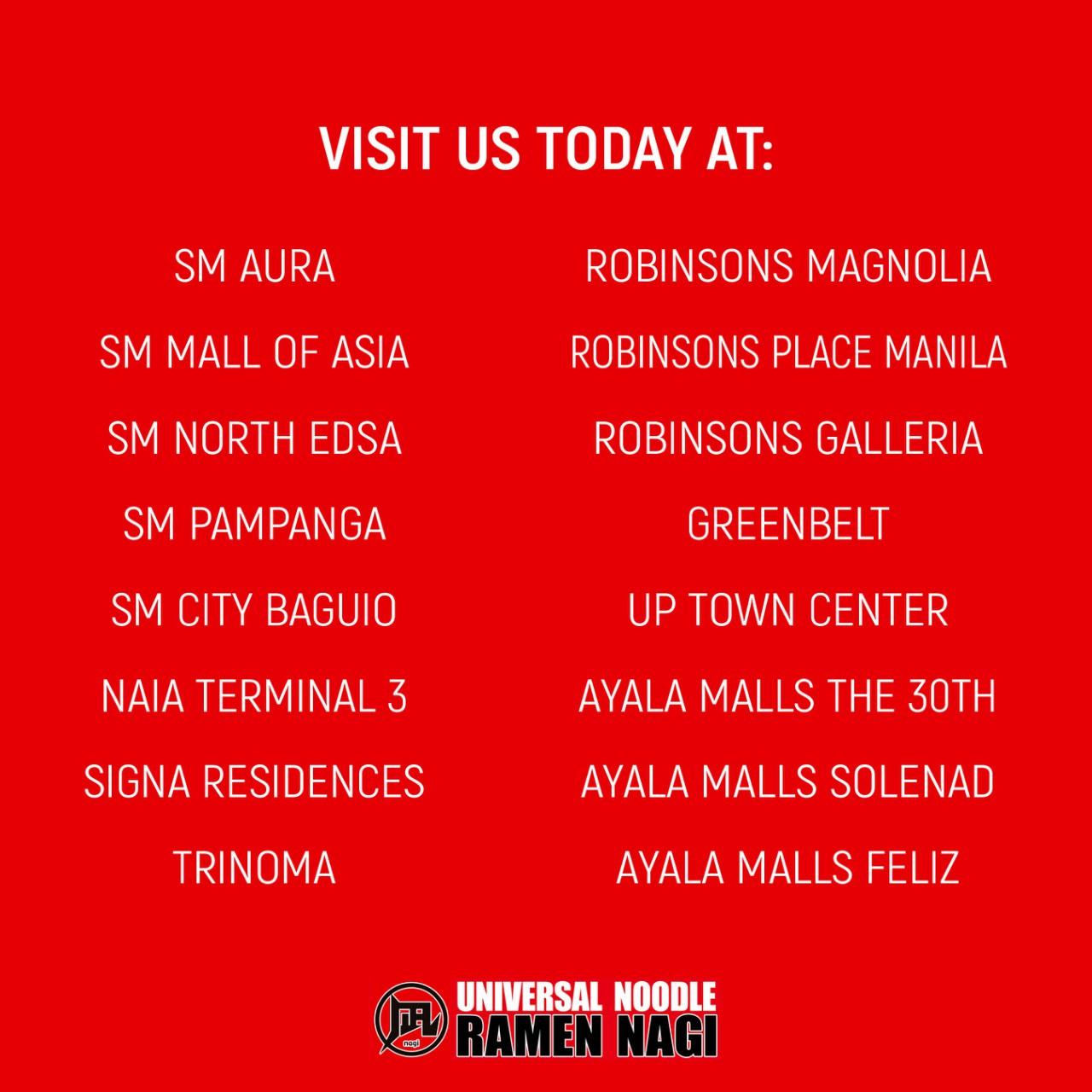Free Ramen Nagi on Your Birthday Month!   Manila On Sale