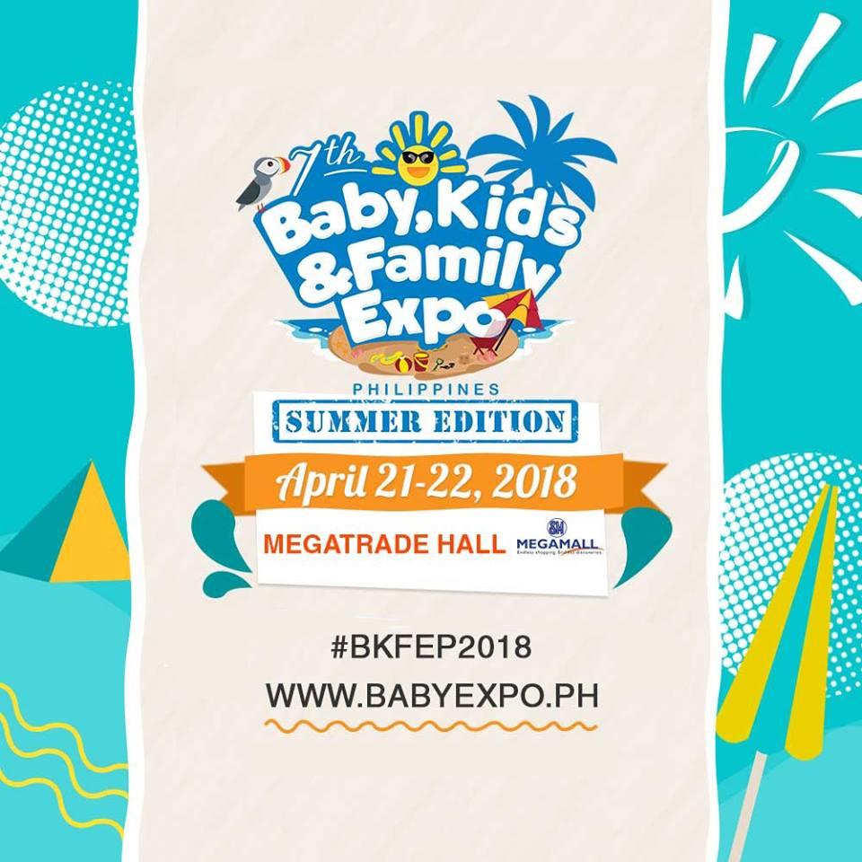 b843b5efd Baby, Kids & Family Expo   Manila On Sale