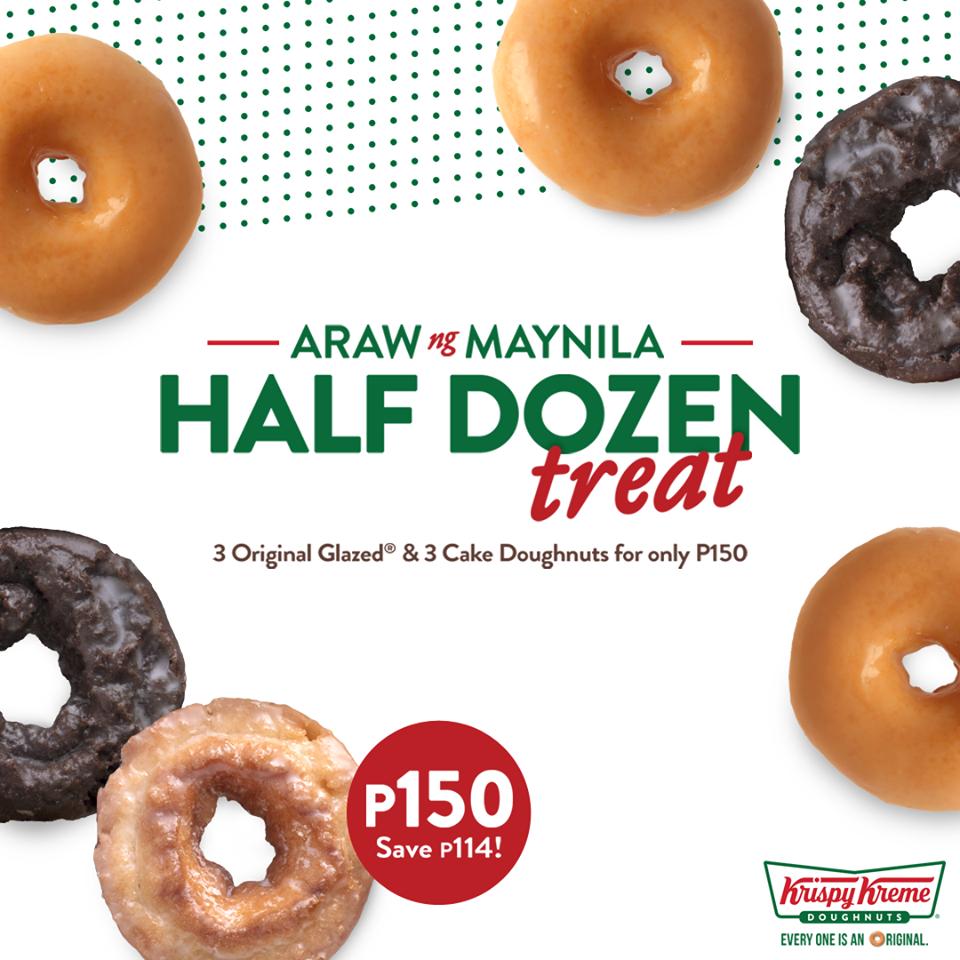 Krispy Kreme Manila Day Treat 2018 | Manila On Sale