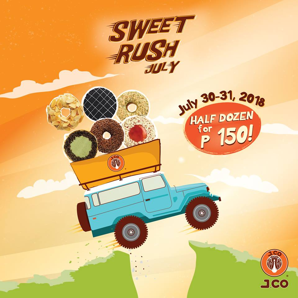J CO Sweet Rush 2018 | Manila On Sale
