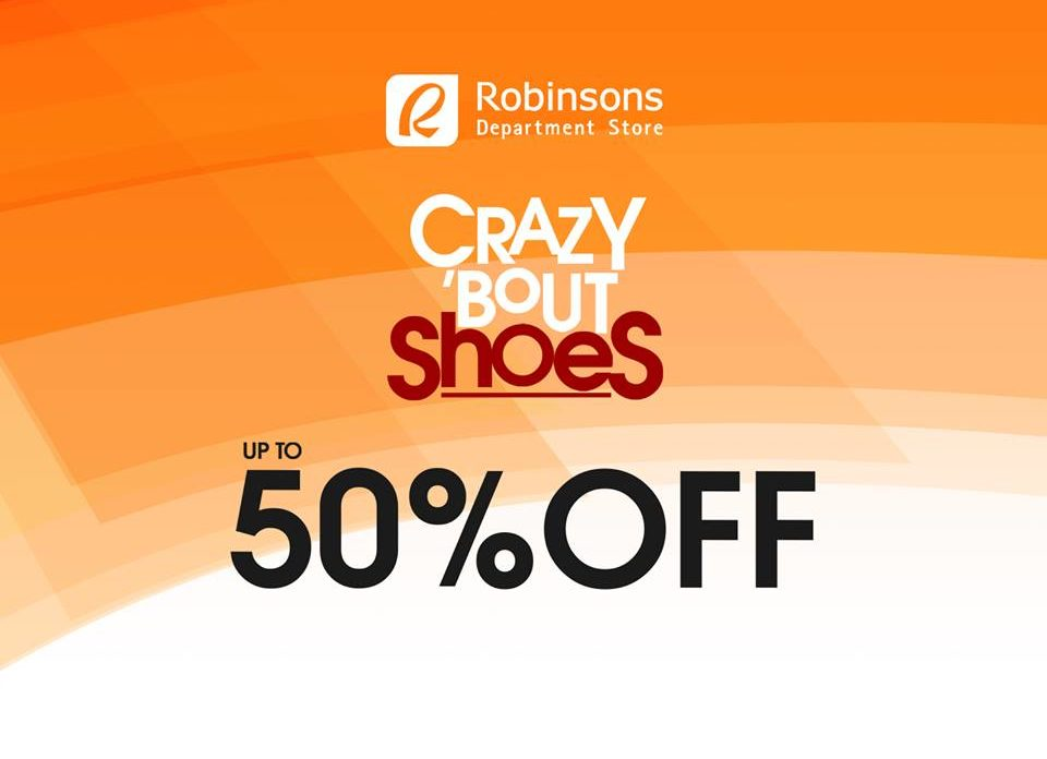 Robinsons Department Store Crazy 'bout