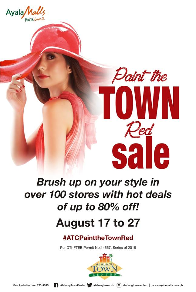 Alabang Town Center Paint the Town Red – Aug 2018 – Salezone