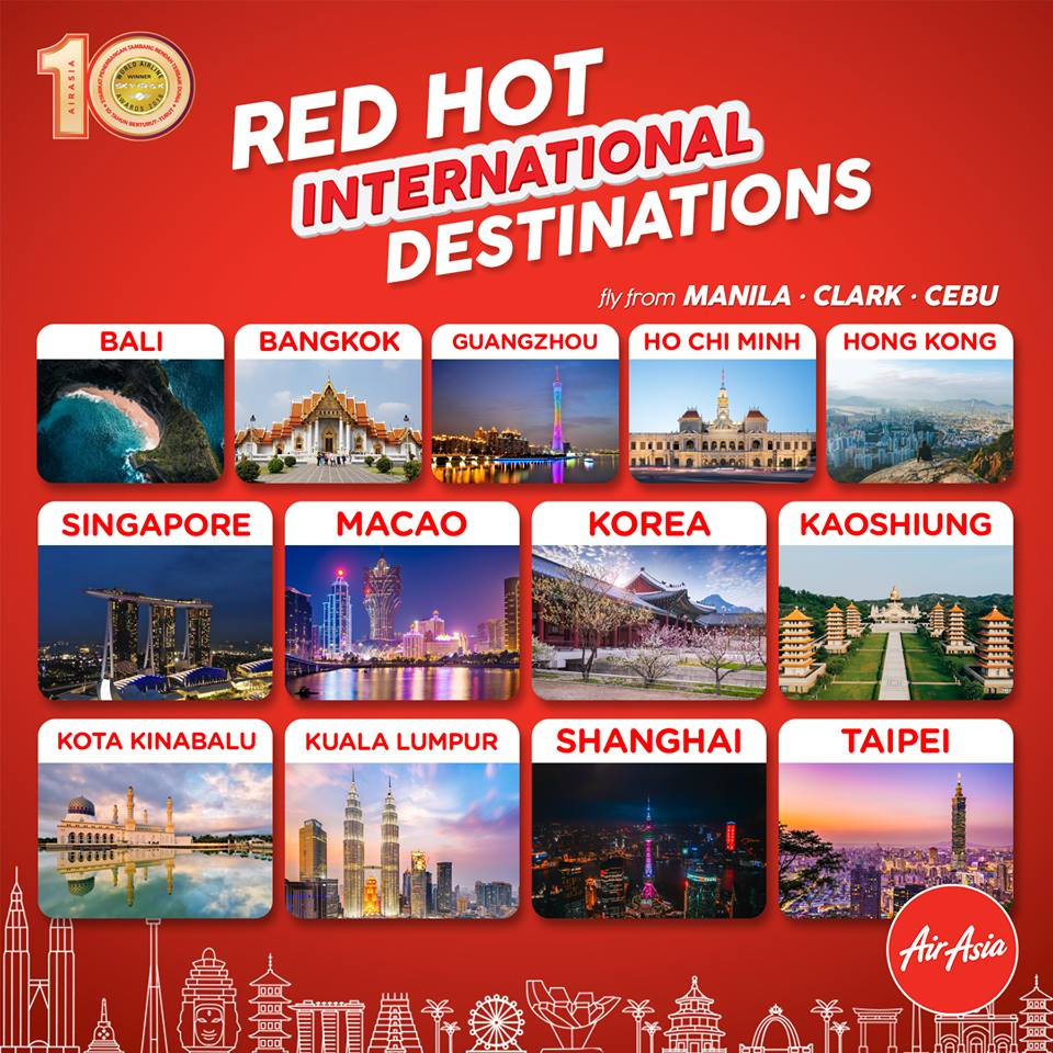 Air Asia Red Hot Piso Sale September 2018 Manila On Ticket  Periode 2019 Get Updates Via Email Click Here