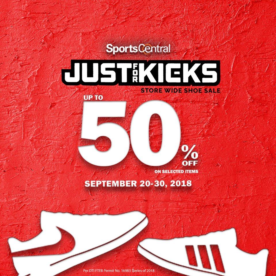 5b047ccea154c Sports Central Just for Kicks Shoe Sale September 2018 | Manila On Sale